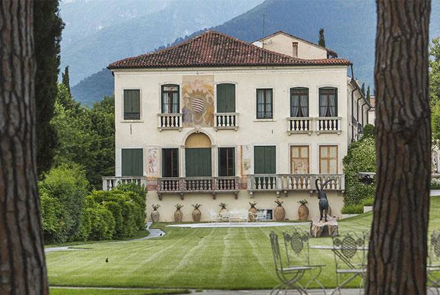 La villa Ca'Erizzo Luca